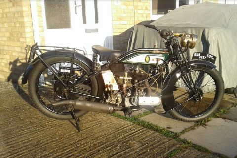 Dave Desborough's 1927 BSA 500cc SV