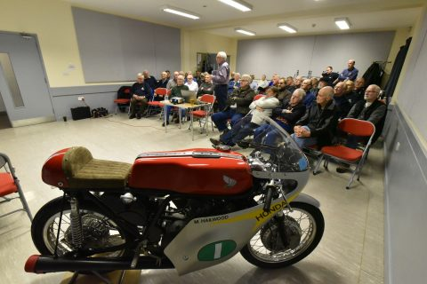 Mel Vinton talk on Mike Hailwood part 1
