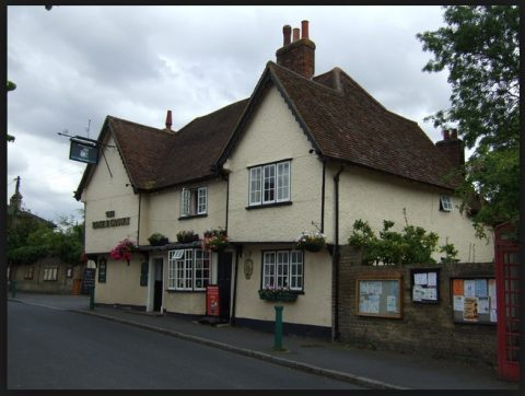 Run to The Rose and Crown, Ashwell