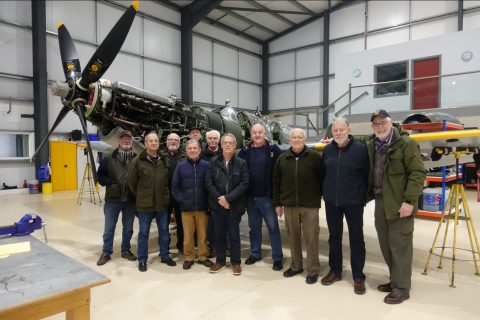 Anglian Section Members visit the Aircraft Restoration Company