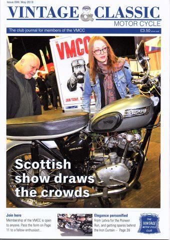 VMCC Club Magazine May 2019
