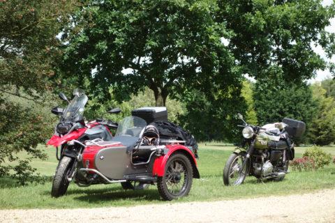 Roger Newark a love affair with sidecars