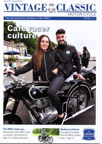 VMCC Club Magazine August 2019