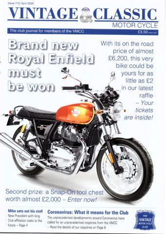 VMCC Club Magazine April 2020